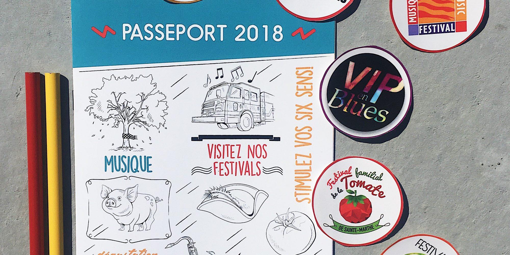 Passeport cahier colorier concours festival