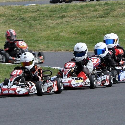 Karting go kart course