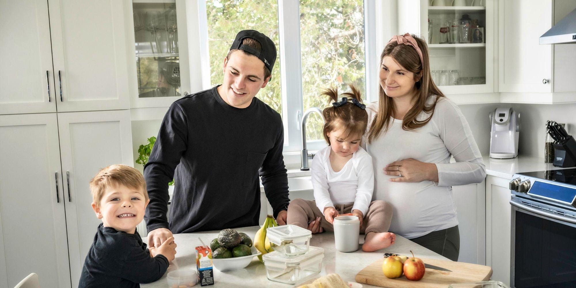 Famille Legault Berthiaume | Profil La petite Famille
