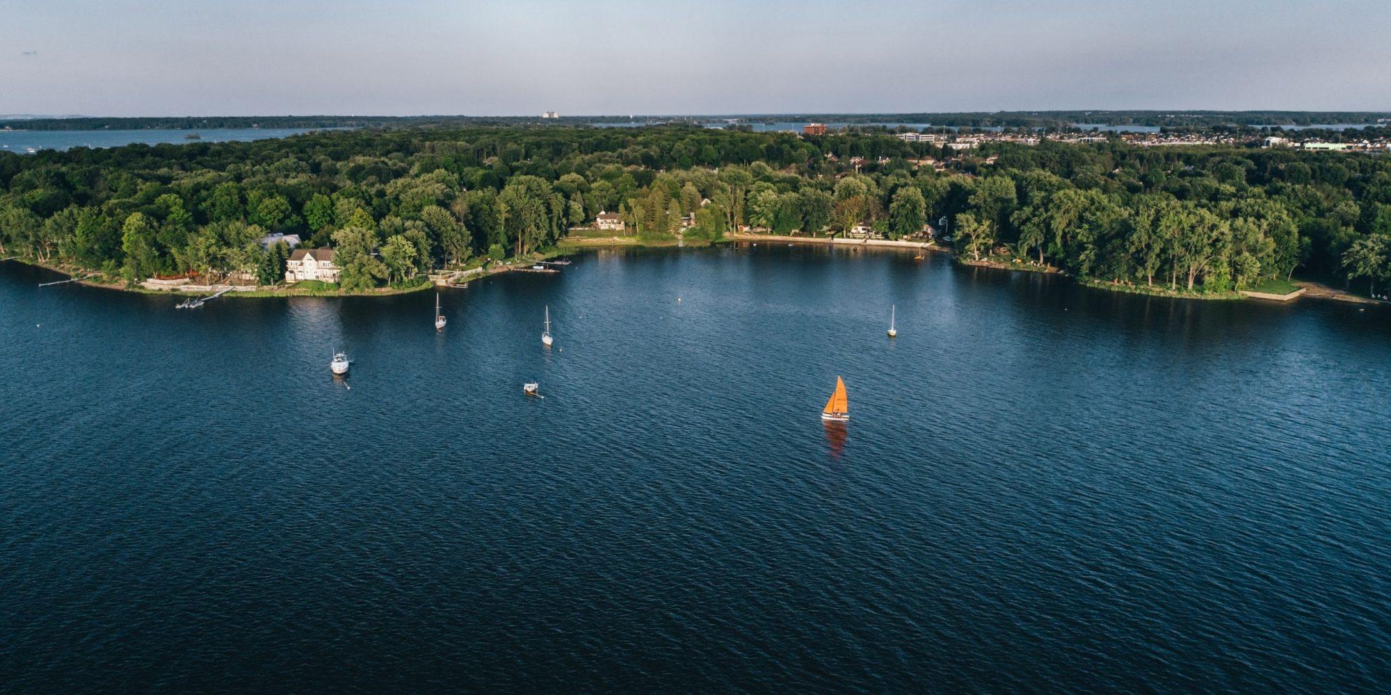 Profiter des plaisirs nautiques et de la baignade dans Vaudreuil-Soulanges